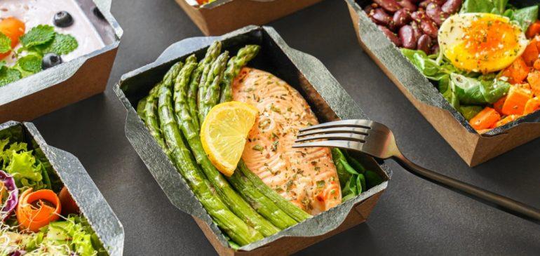 Manger gourmet à la maison ou au bureau